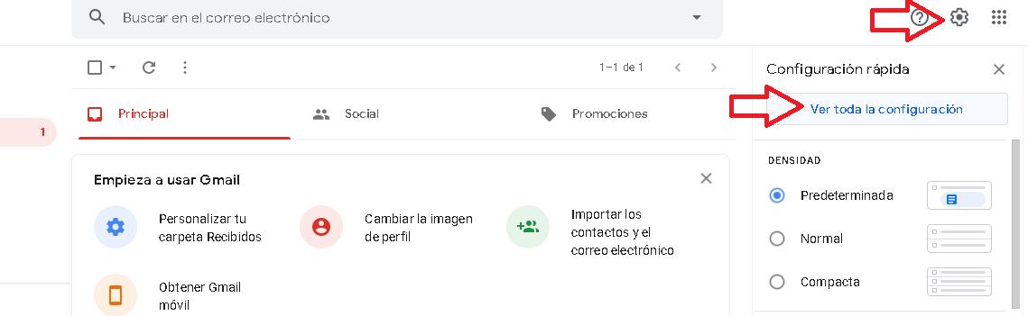 ¿Cómo borrar una cuenta de Gmail?: iniciar sesión en gmail.