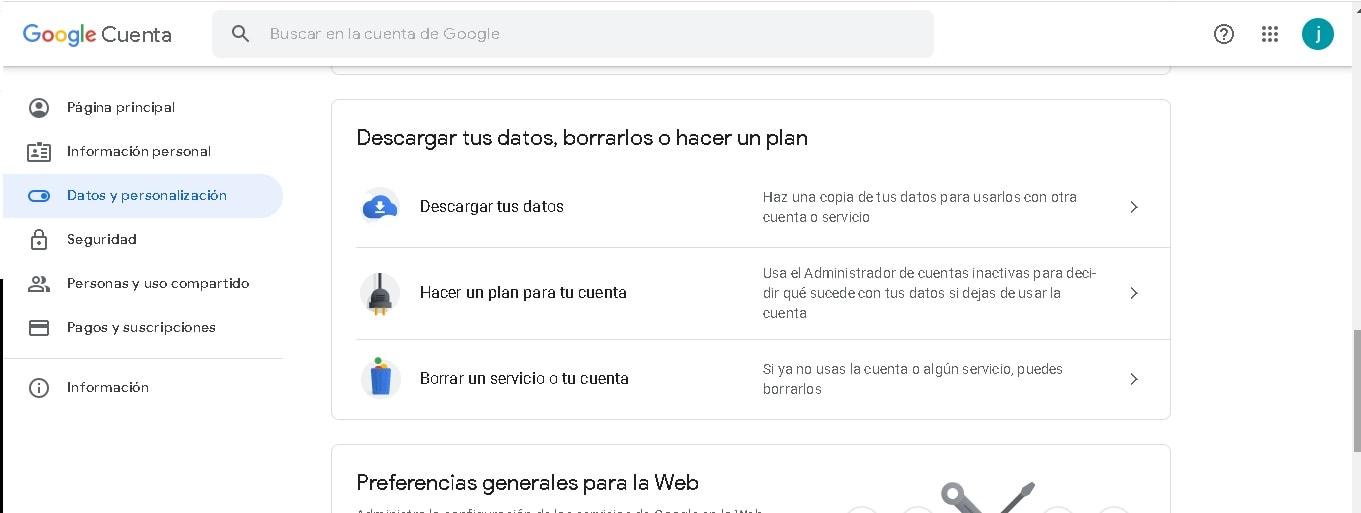 ¿Cómo borrar una cuenta de Gmail?: herramientas de datos